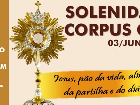 ENCAMINHAMENTOS PARA A FESTA DE CORPUS CHRISTI
