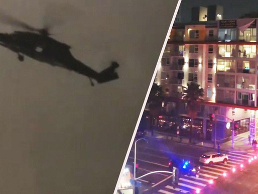 Military helicopters spotted in LA: Is the military preparing for urban warfare?