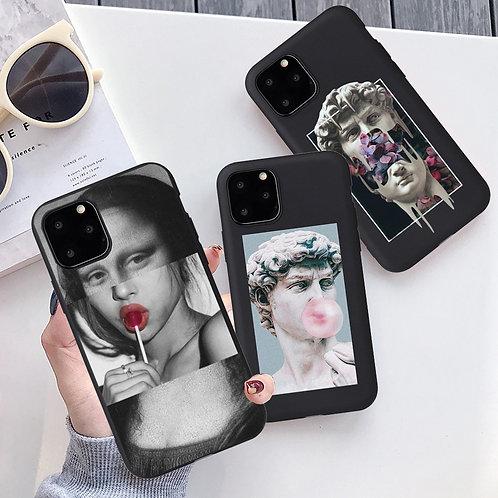 Classic/Pop Art Phone Case for iPhone 6s 5SE 7 8Plus X XR XS 11 Pro Max