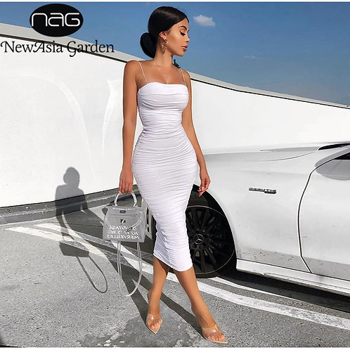 Form Fitting Chic On the Go Dress