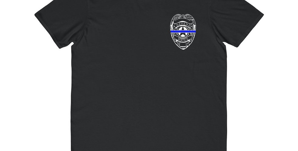 Defend Police Unisex T-shirt | Thin Blue Line | Support Police
