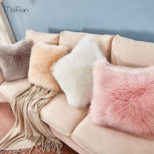 Fluffy Faux Fur Fashion Pillows