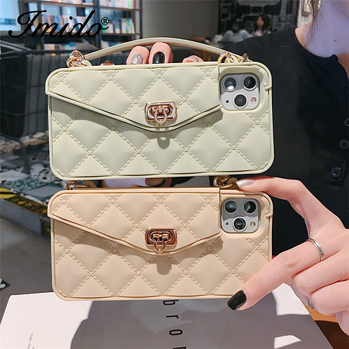 Faux Handbag Phone Case & Wallet
