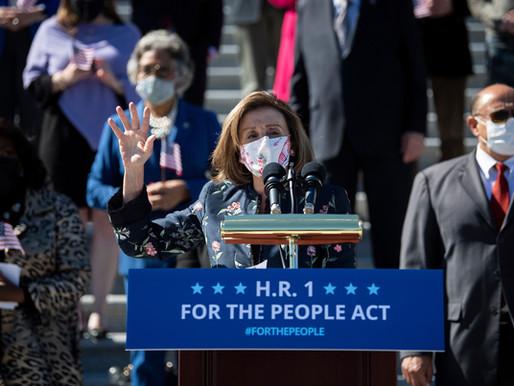 DEM House Passes Bill Gutting Election Integrity, Free Political Speech