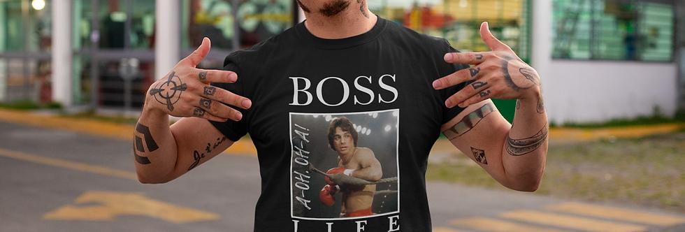 'BOSS LIFE' - Tony Danza Style Unisex Tee