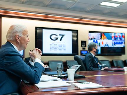 Biden Tells G-7 Summit 'America First' Diplomacy Is Over!
