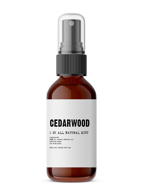 Cedarwood Men's Meditation Mist