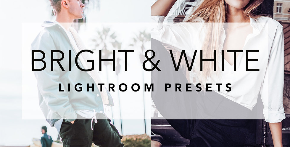 LIGHT BRIGHT & WHITE LIGHTROOM PRESETS