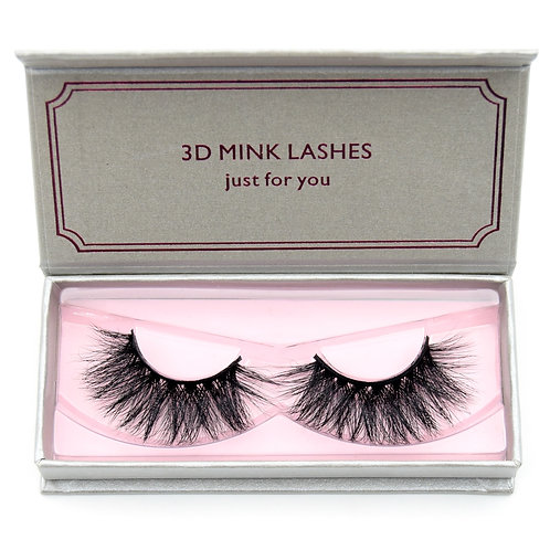 Cruelty-Free Mink Style Reusable Strip Lashes