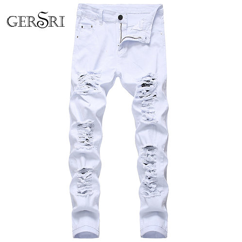 Gersri  Destruction Distressed Jeans