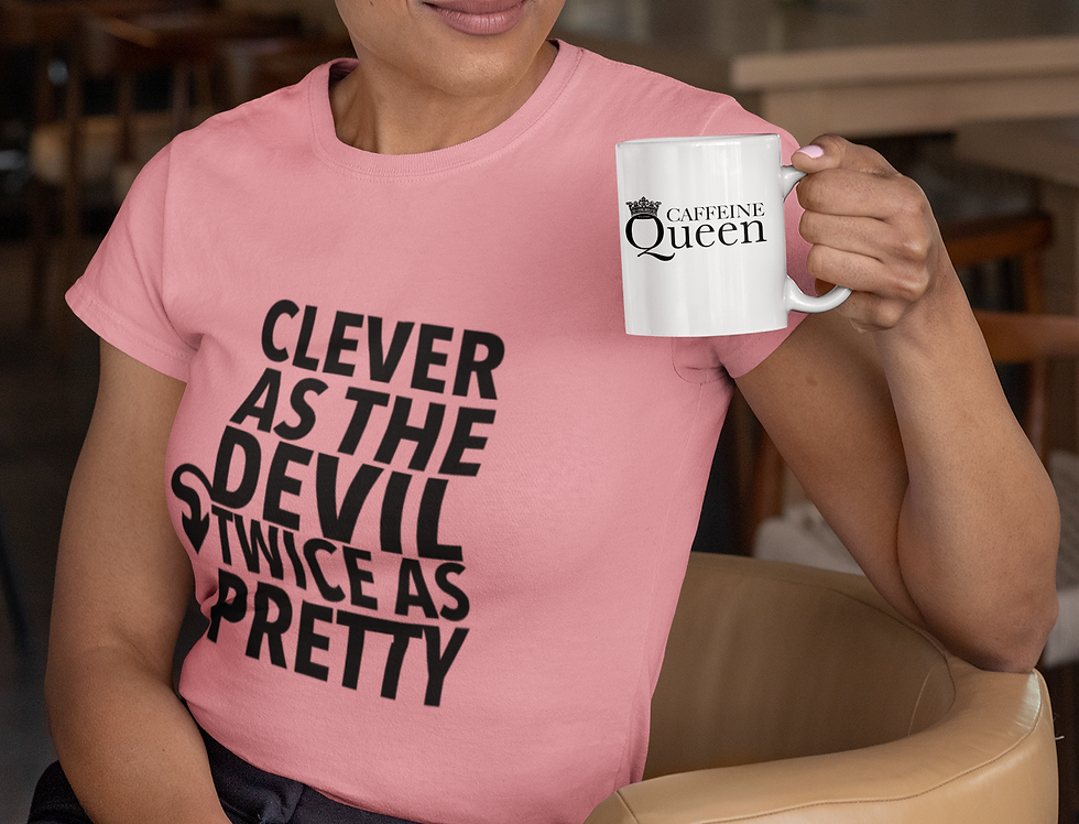 Coffee. Smile. Laugh. Love. Repeat Womens Fitted Tee