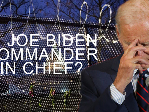 Is Biden Commander In Chief ? Evidence SAYS NO!!