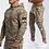 Thumbnail: Tracksuit Camo Hoodie Pants Set
