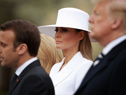 Celebrating the First Lady of Fashion: Melania Trump's best style moments