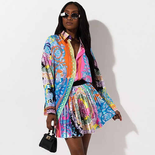 Modern African Fashion Skirt & Top