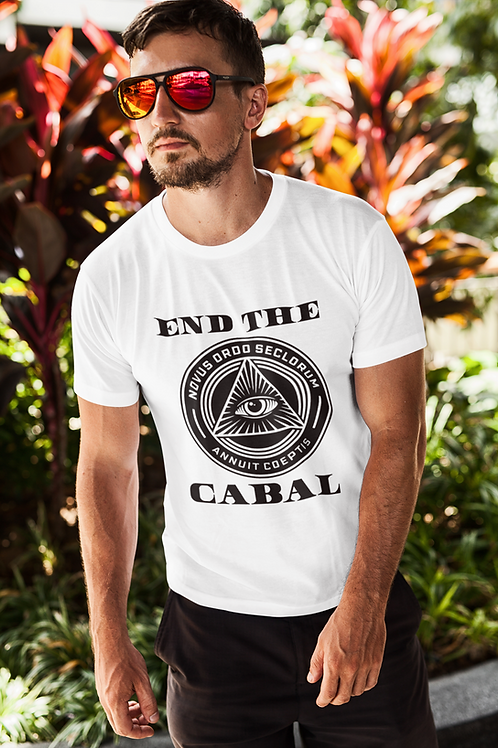 End The Cabal Jersey Tee