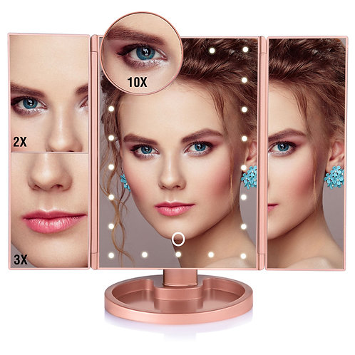 Adjustable LED Cosmetic Mirror