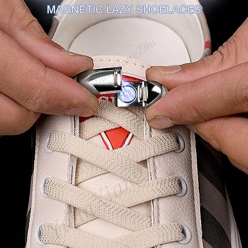 Unisex Magnetic Locking Shoe Lace