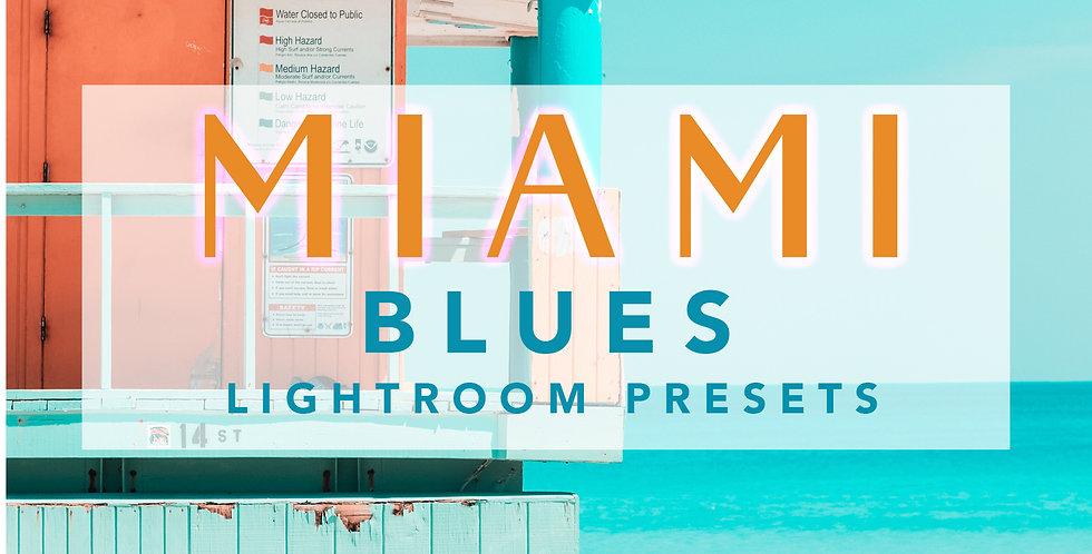 MIAMI BLUES LIGHTROOM PRESET