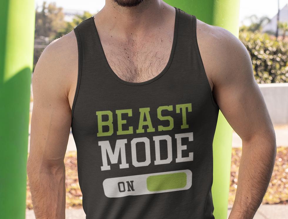 Beast Mode Men's Workout Tanktop