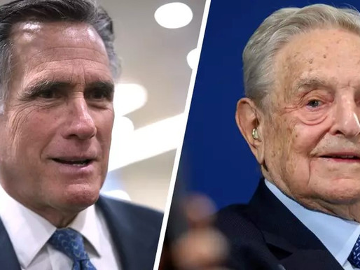 Senator Mitt Romney Caught Taking Money from George Soros Organization.