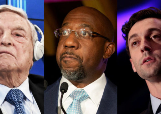 SOROS & BLOOMBERG PUSH MILLIONS INTO GA SENATE RACE.