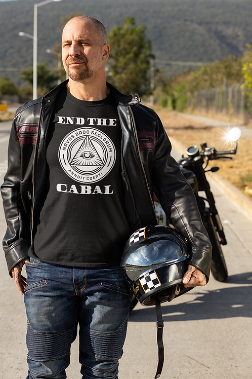 End The Cabal Colored Jersey Tee