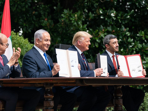 CELEBRATING THE 1 YEAR ANNIVERSARY OF THE ABRAHAM ACCORDS BROKERED BY PRESIDENT TRUMP