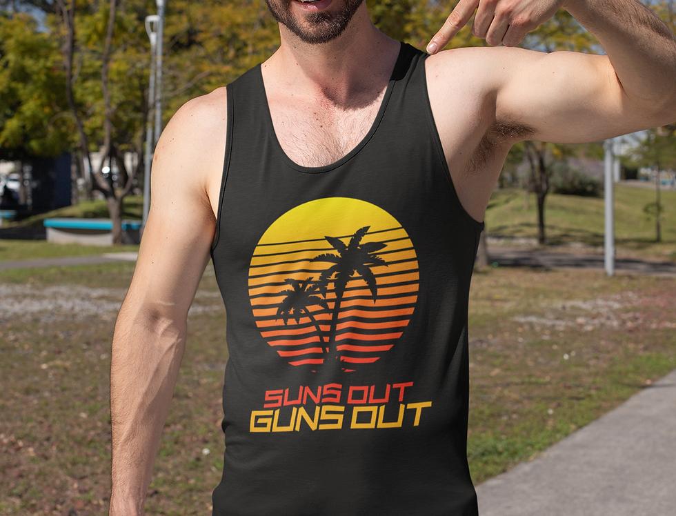 Suns Out Guns Out Tank Top (5 Colors)