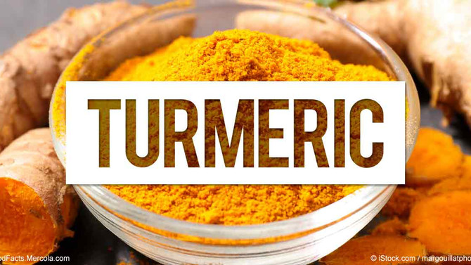 The Powerful Benefits of TURMERIC