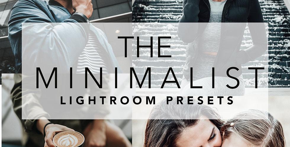 THE MINIMALIST LIGHTROOM PRESETS