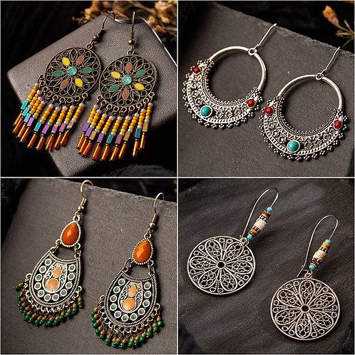 Vintage Style Bohemian Earrings