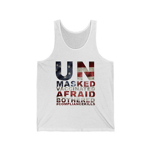 UnMasked / UnBothered Statement Unisex Tank Top