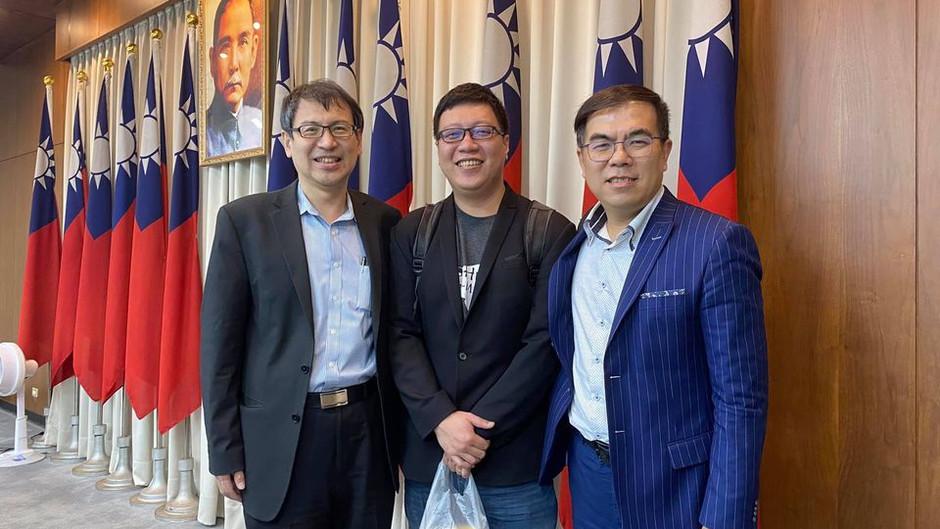 彭啟明博士受推舉為開放政府民間共同召集人