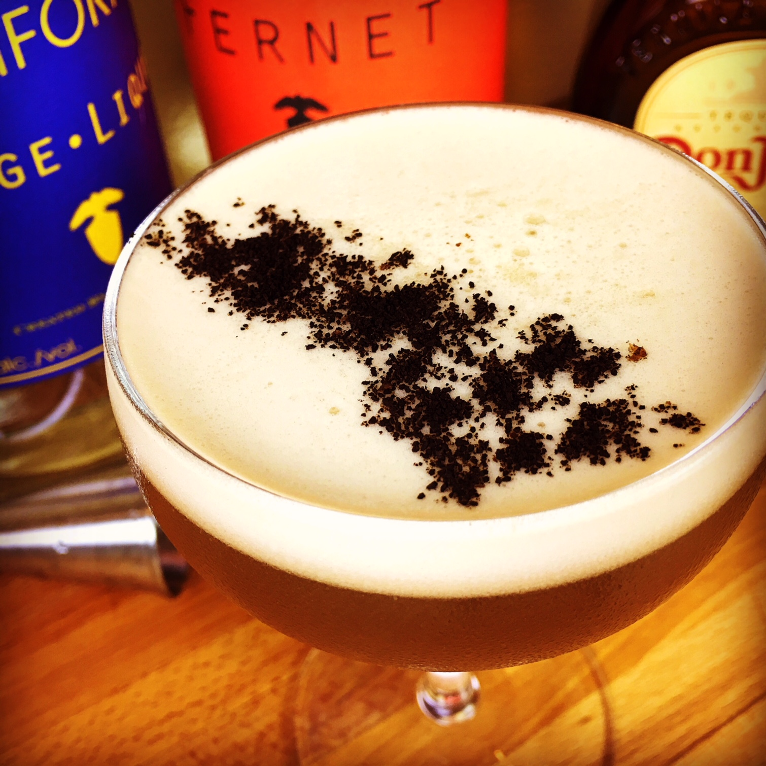 Tequila Fernet Coffee