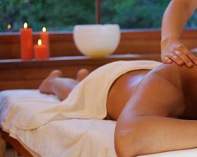 Massage apaisant les émotions