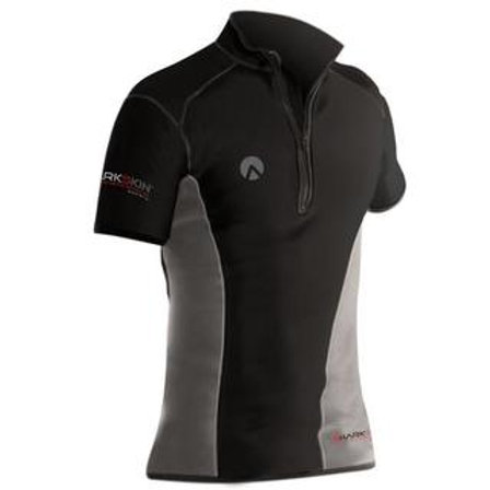 Sharkskin Chillproof Short Sleeve with Chest Zip - Mens