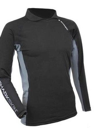 Sharkskin Rapid Dry Long Sleeve With Collar