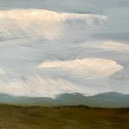 Gray Sky with Rain Clouds