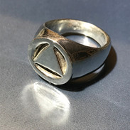 Circle & Triangle Ring