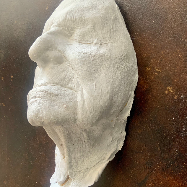 Life Cast Side View Left 8/19/2020
