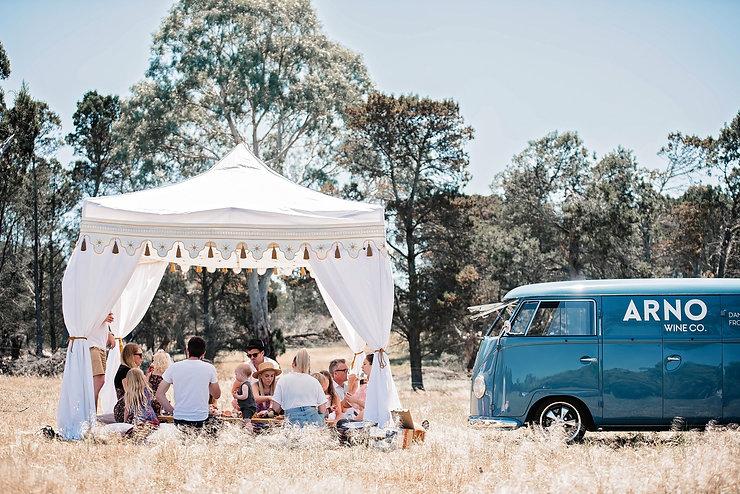 Bohemian tent hire