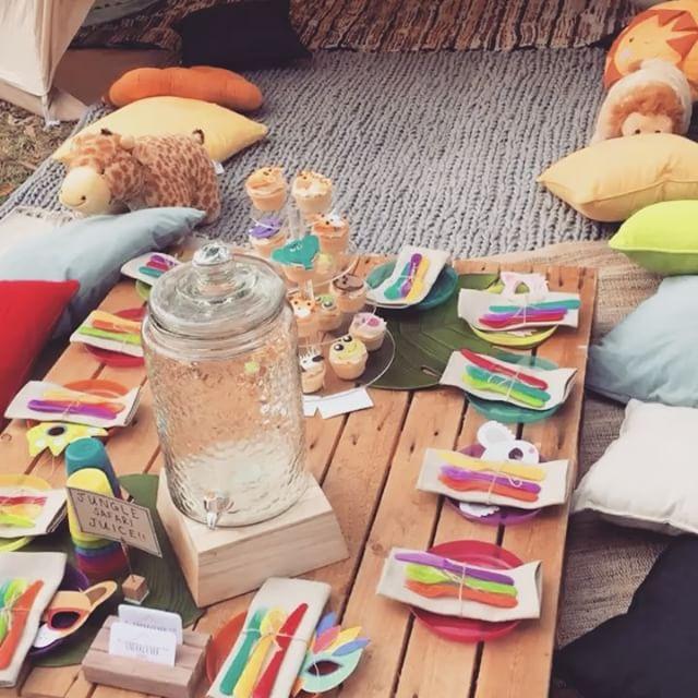 Animal birthday party - pallet