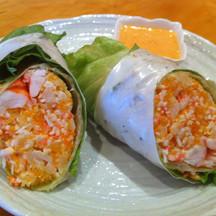 Shell fish wrap