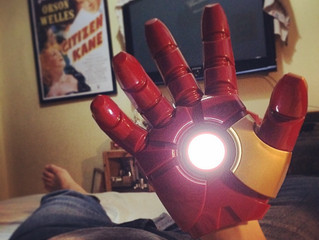 The Robot and the Iron man hand: A Child Remembers.