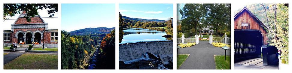 Vermont collage