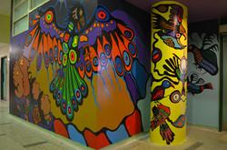 Philip Cote  Underworld Mural 03 Cedarbrae TDSB