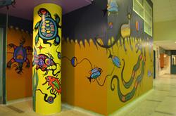 Philip Cote  Underworld Mural 04 Cedarbrae TDSB