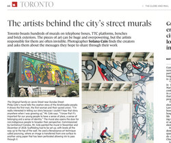 Globe and Mail Article August 6