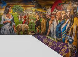 The Niagara Treaty of 1764 Mural UofT
